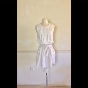 ALC Cream Crochet mini dress size 4